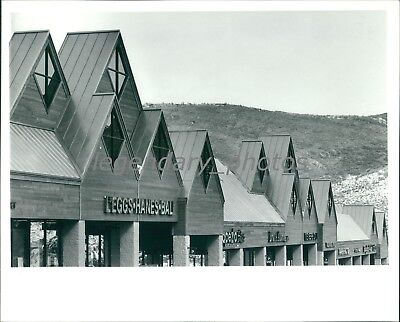 1992 Kimball Junction Factory Stores Outlet Mall Utah Original News Service (Mall Junction)