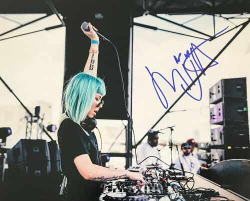 Mija Sexy Electronica DJ Dance Signed 8x10 Autographed Photo COA E1