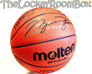 1992-Molten-Dream-Team-Signed-Michael-Air-Jordan-Bird-Magic-NBA-Basketball-Ball