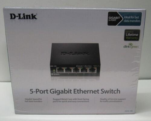 D-Link 5 Port Gigabit Switch DGS-105