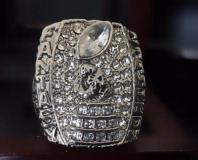 NO YEAR Fantasy Football Ring Championship Trophy League FFL Award +Display Case ()