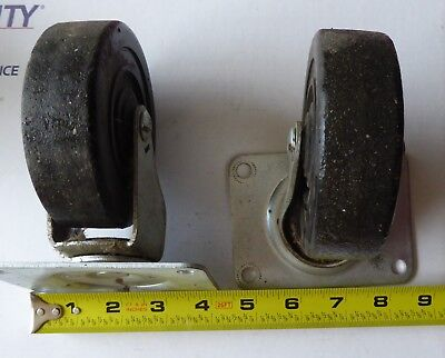 Casters Set Of 4 Heavy Duty 4 Industrial Grade Lightly Used