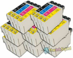 32-T0551-4-T0556-Duck-Compatible-Non-OEM-Ink-Cartridges-for-Epson-Stylus-Print