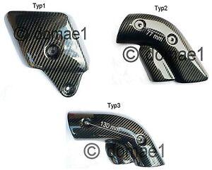 carbon fiber heat shield exhaust cover protector Ducati 748 916 996 998  3Typs