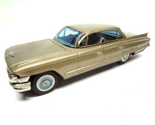 1962 Cadillac 6 Window Sedan DeVille Tin Car Vintage Antique toy Made in Japan