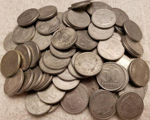 87   50 Pfennig East Germany DDR Coins Lot