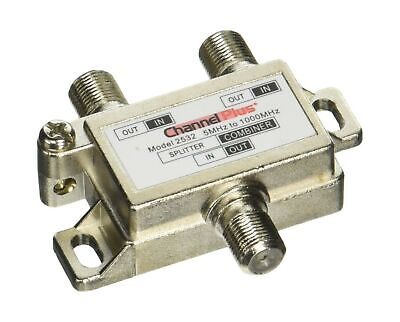 CHANNEL PLUS 2532 2Way Splitter Combiner Antenna Coaxial Cable Operations Signal