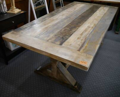 New Rustic Recycled Timber Solid Mango Wood Matilda Dining Tables
