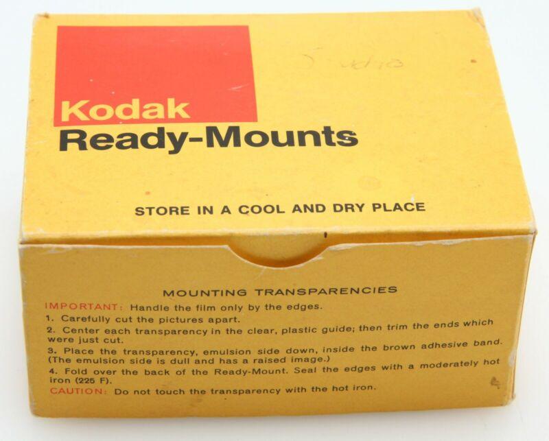 "Kodak Ready Mounts 2 x 2"" for 24 x 36 mm slides 135 Size qty 93 open box 392125"