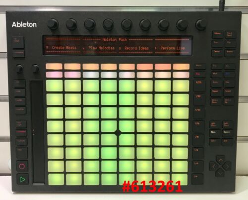 Akai Ableton PUSH 1 MIDI Controller with Skin Cover (Yellow Buttons)