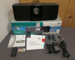 Logitech Pure-Fi Express Plus S-00067 Alarm Clock Speakers iPhone iPod Dock