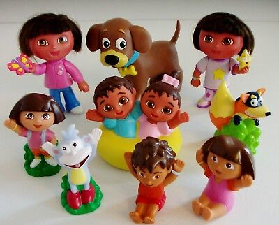 Dora the Explorer Toy Figure Bundle