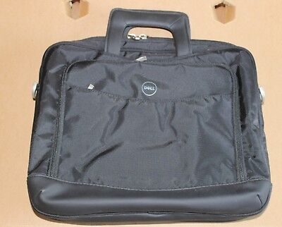 "14"" LAPTOP IPAD MAC BOOK NOTEBOOK  BAG CASE BLACK NYLO  74NVT PRO BUSINESS  DELL for sale  Shipping to India"