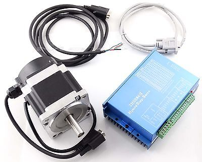 CNC Hybrid Closed loop Stepper Servo Drive Driver 2HSS86H+ 4.5N.M Motor +Encoder
