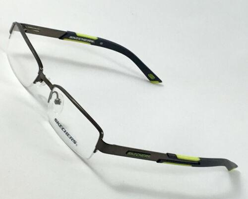 New SKECHERS SK1029 SGUN Boys Kids Eyeglasses Frames 48-17-130