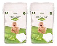 Organyc Bebé Algodón Orgánico Cuadros 2x60pcs -  - ebay.es