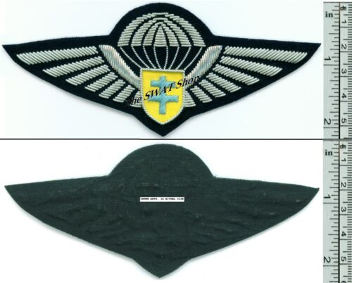 FREE FRENCH FORCES WWII PARACHUTE WINGS FRANCE F.F.L. BULLION
