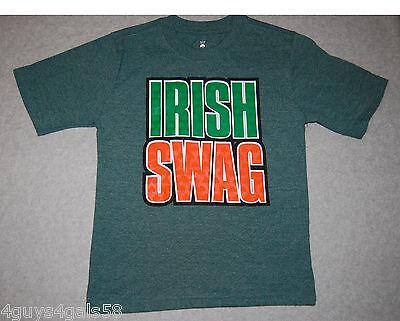 Boys Tee Shirt ST. PATRICK'S DAY Green XXL 18 IRISH SWAG Holiday - Patrick Swag