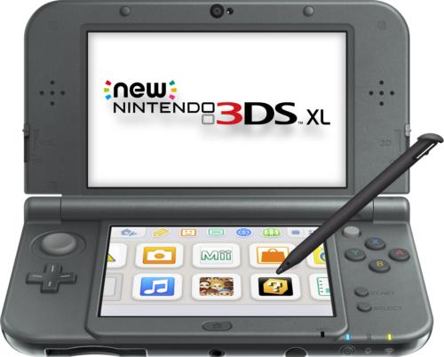 New Nintendo 3DS XL (New Black) - REFURBISHED BY NINTENDO -  Warranty Included