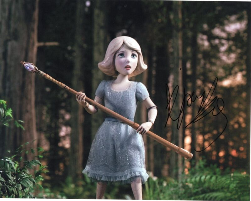Joey King Oz The Great and Powerful China Girl Signed 8x10 Photo w/COA #1