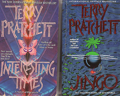 Complete Set Series -- Lot of 41 Discworld books by Terry Pratchett (Fantasy)
