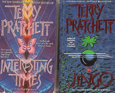 Complete Set Series - Lot of 41 Discworld books by Terry Pratchett Disc World