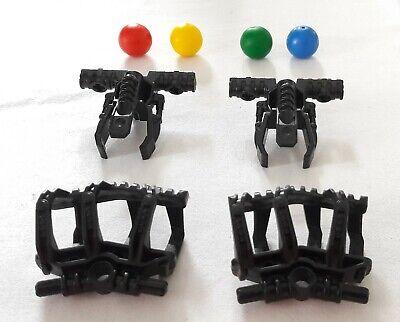 Lego 1 x Bionicle Waffe Geschoß Stachelkugel schwwarzer Ring 62477c01 perl gold