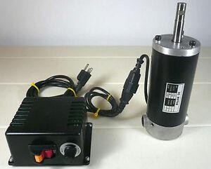 Variable speed dc motor ebay for Variable speed gear motor