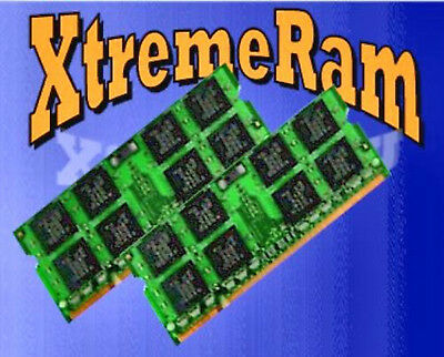 Xtremeram 8GB 2X 4GB DDR2 PC6400 PC2-6400 800 MHz 200Pin SODIMM LAPTOP -