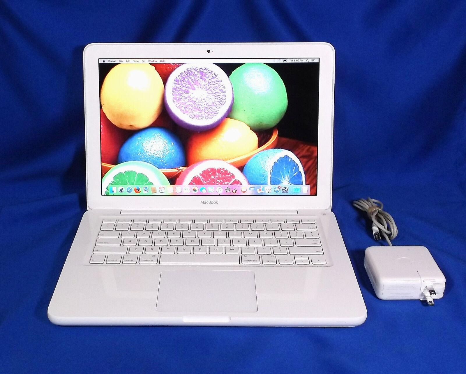 "Macbook - Apple Macbook 13"" Unibody A1342 (Sierra 10.12) CHOOSE your HARD DRIVE & MEMORY !"