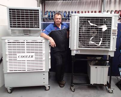 Zuma large volume evaporative coolers for Indoor & Outdoors