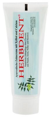 Herbdent, Ayurvedische Zahncreme Mit Xylitol + Calcium Gemischt von Herbdent