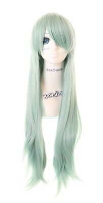 Elizabeth 1 Wig (CS-244A Elizabeth Seven Deadly Sins Green 31 1/2in Long Anime Cosplay)