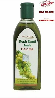 Patanjali Kesh Kanti Amla Hair Oil-Prevent Hair Fall,Strengthen the roots 200ml. for sale  Shipping to India