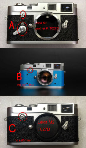 Leica M2 camera replacement leatherette cover pre cut self-adhesive!