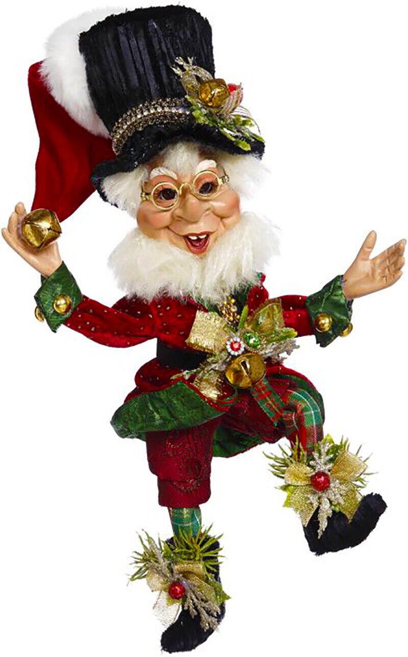"[Mark Roberts Elves - Bah Humbug Elf 51-05520 Small 12"" Figurine </Title]"