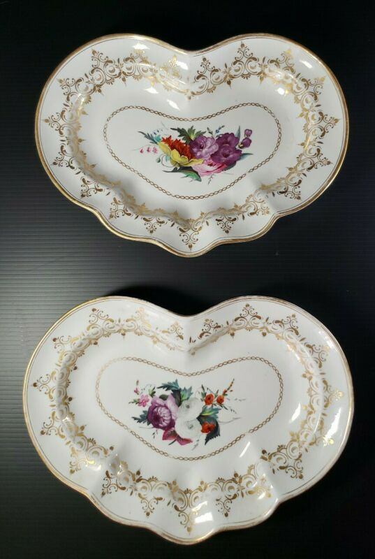 18th Century Georgian Chamberlains Worcester Porcelain Dessert Plate Serving
