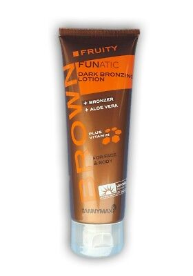 Tannymaxx Brown/Fruity Funatic-Dark Bronzing Lotion /Solariumkosmetik