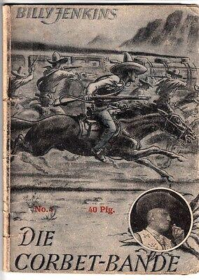 BILLY JENKINS Nr. 4 (3-4) schlechter Zustand UTA Verlag Roman ORIGINAL 1.Auflage