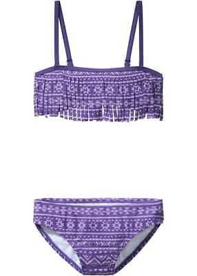 Bikini flieder/lila gemustert Größe 176