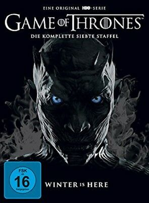 Game of Thrones Staffel 7 NEU OVP 4 DVDs