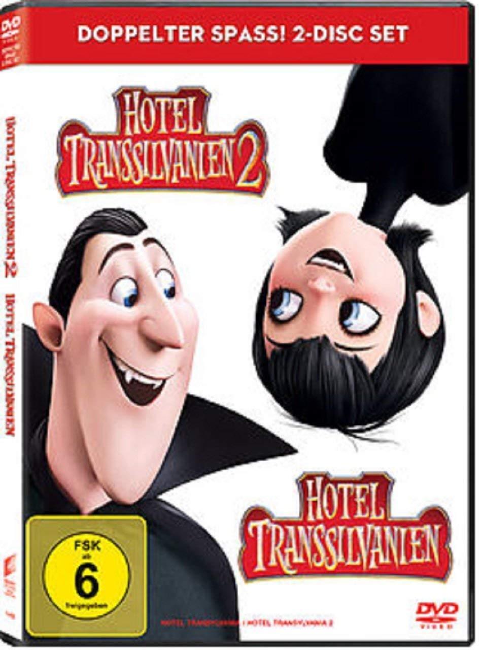 2 DVDs * HOTEL TRANSSILVANIEN 1 + 2 IN EINER BOX  # NEU OVP - Transilvanien <