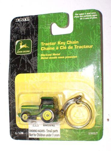 John Deere   1/64 Ertl Tractor Key Chain  NRFB Mint !  2001