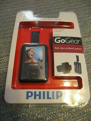 Philips GoGear Move Pack PAC017 Belt Clip, Armband and Pouch New in Package