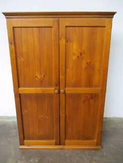 B33037 Two Door Timber Wardrobe w/ Shelf Mount Barker Mount Barker Area Preview
