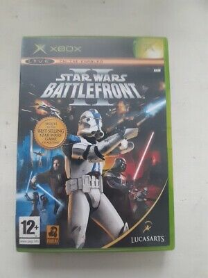 Star Wars Battlefront 2 Original Xbox Game