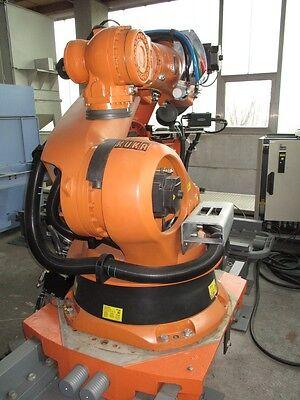 Roboter KUKA KR210,KRC2,mit Linearachse 8,5 m Baujahr 2005