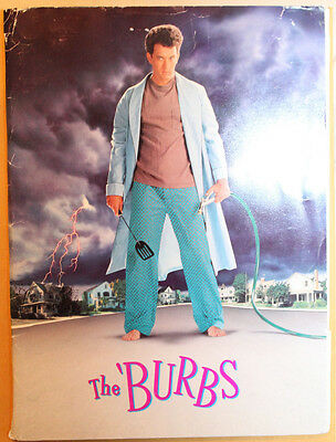 **Very Rare** The Burbs Pressbook Universal Pictures Tom Hanks