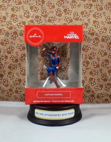 Hallmark Ornament - Red Box - Captain Marvel