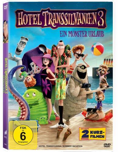 DVD--Hotel Transsilvanien 3 - Ein Monster Urlaub--NEU/OVP